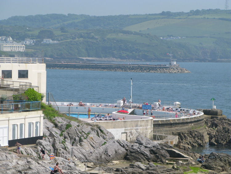 Plymouth - The Hoe - Tinside Piscine