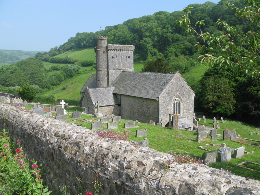 Branscombe - St Winifred's church